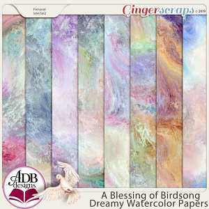 A Blessing of Birdsong Specialty Papers by ADB Designs