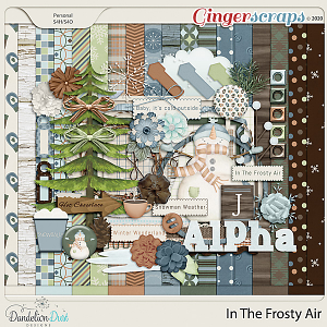 In The Frosty Air Digital Scrapbook Kit by Dandelion Dust Designs