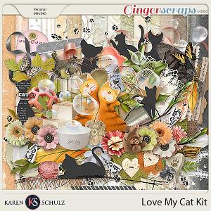 Love my Cat Kit by Karen Schulz