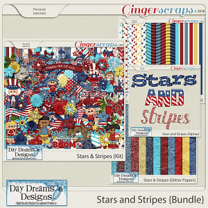 Stars and Stripes {Bundled Collection} by Day Dreams 'n Designs