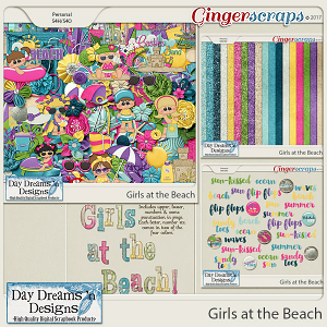 Girls at the Beach {Bundle Collection} by Day Dreams 'n Designs
