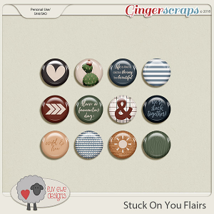 Stuck On You Flairs by Luv Ewe Designs