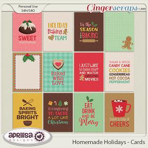 Homemade Holidays - Cards