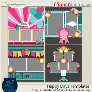 Happy Days Templates
