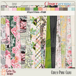 Girly Pink Cars Papers
