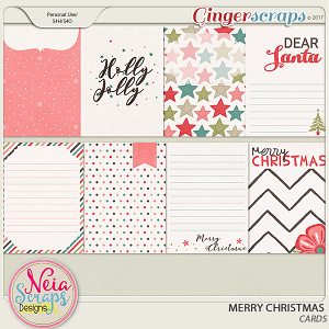 Merry Christmas - Cards - by Neia Scraps