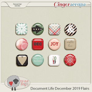 Document Life December 2019 Flairs by Luv Ewe Designs