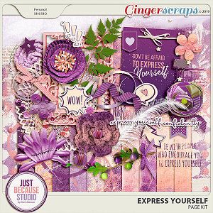 Express Yourself Page Kit by JB Studio