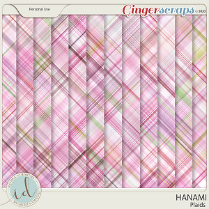 Hanami Plaids by Ilonka's Designs