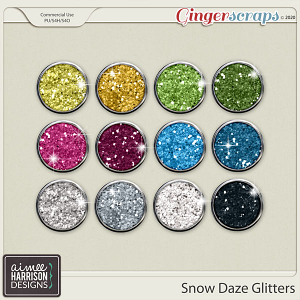 Snow Daze Glitters by Aimee Harrison
