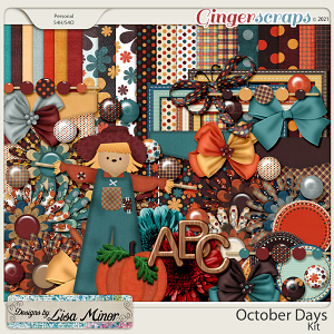 October Days from Designs by Lisa Minor