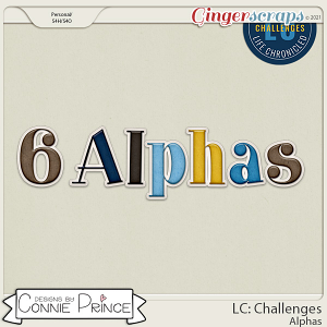 Life Chronicled: Challenges - Alpha Pack AddOn by Connie Prince