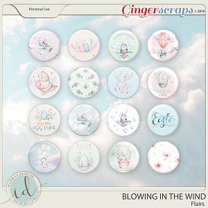 Blowing In The Wind Flairs by Ilonka's Designs