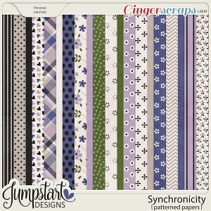 Synchronicity {Papers} by Jumpstart Designs