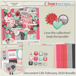 Document Life February 2020 Bundle by Luv Ewe Designs