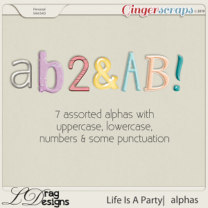 Life Is A Party: Alphas by LDragDesigns
