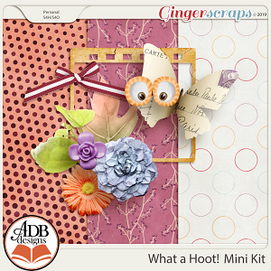 What A Hoot mini Kit by ADB Designs