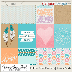 Follow Your Dreams | Journal Cards