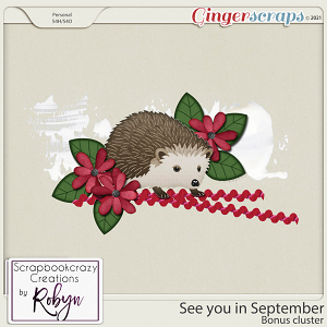 See you in September Bonus cluster by Scrapbookcrazy Creations
