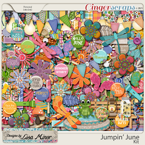 Jumpin' June from Designs by Lisa Minor