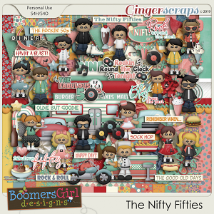 The Nifty Fifties by BoomersGirl Designs