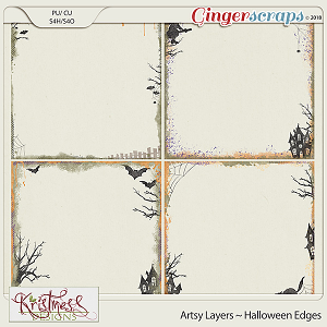 CU Artsy Layers ~ Halloween Edges