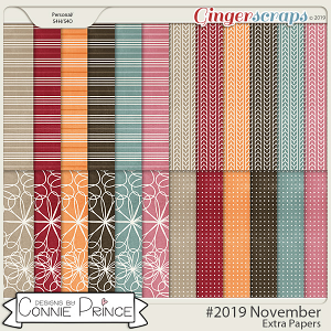 #2019 November - Extra Papers by Connie Prince