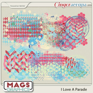I Love A Parade HODGE PODGE by MagsGraphics