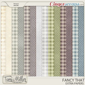 Fancy That Extra Papers by Tami Miller Designs