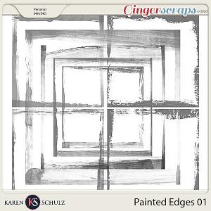 Painted Edges 01 by Karen Schulz