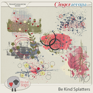 Be Kind Splatters by Luv Ewe Designs