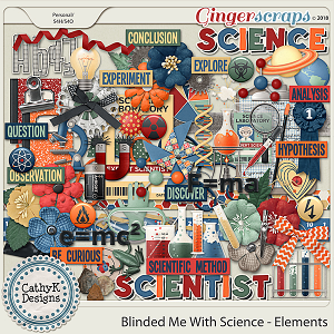 Blinded Me With Science - Elements by CathyK Designs