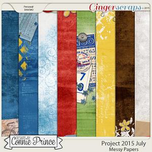 Project 2015 July - Messy Paper Pack
