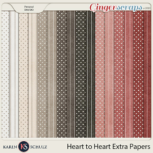 Heart to Heart Extra Papers by Karen Schulz