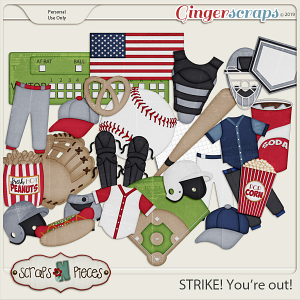 Strike You're Out kit by Scraps N Pieces
