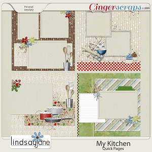 My Kitchen Quick Pages by Lindsay Jane
