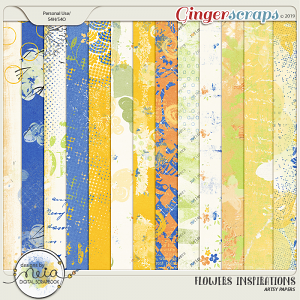 Flowers Inspirations - Artsy Papers - by Neia Scraps