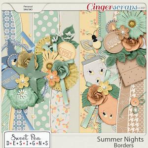 Summer Nights Borders