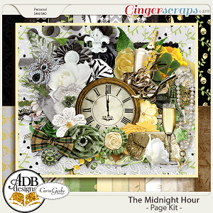 The Midnight Hour Page Kit by ADB Designs