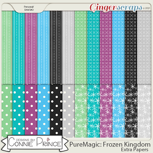 PureMagic: Frozen Kingdom - Extra Papers by Connie Prince