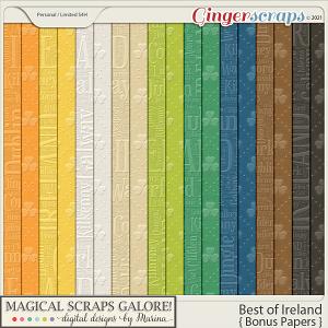 Best of Ireland (bonus papers)