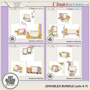 JDoubleU Templates Bundle (sets 4-7) by JB Studio