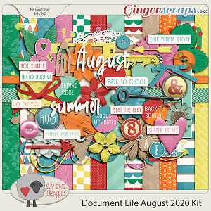 Document Life August 2020 Kit by Luv Ewe Designs