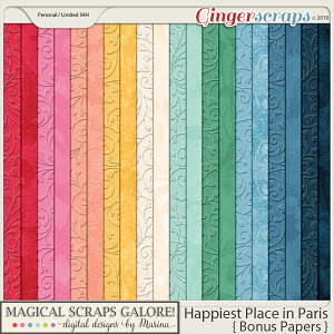 Happiest Place in Paris (bonus papers)