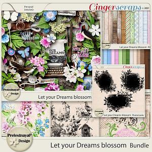 Let your Dreams blossom Bundle
