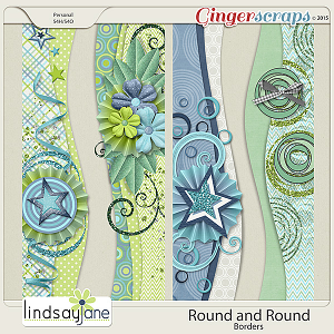 Round and Round Borders by Lindsay Jane