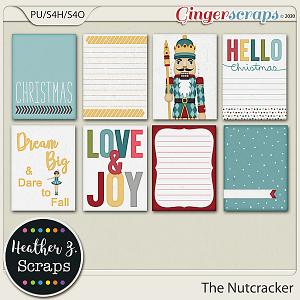 The Nutcracker JOURNAL CARDS by Heather Z Scraps