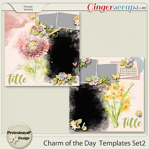 Charm of the Day Templates Set2