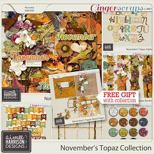 November's Topaz Collection by Aimee Harrison