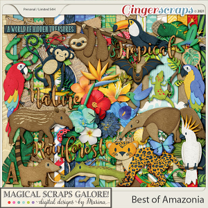 Best of Amazonia (page kit)